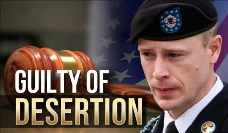 Bergdahl Guilty of Desertion